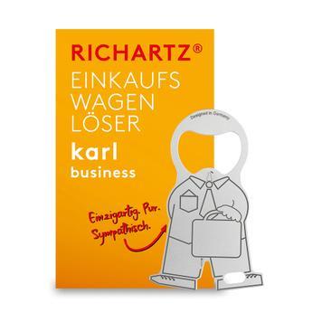 """Einkaufswagenlöser """"Karl Business"""""""