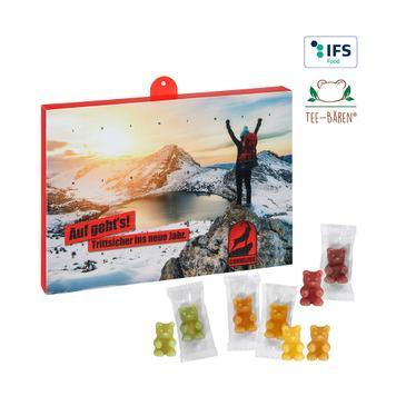 Premium Tee-Bären Adventskalender