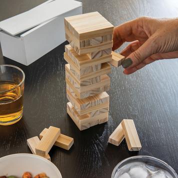 Holz-Stapelturm Deluxe
