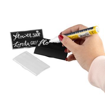 "Namensschild ""Podio Paper Kreidezeit"""