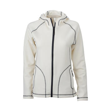 Damen Stretch Fleece Jacke