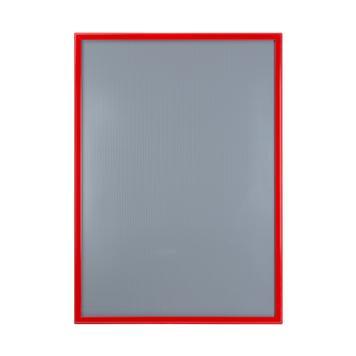 Klapprahmen, 32 mm Profil, rot pulverbeschichtet, Gehrungsecken