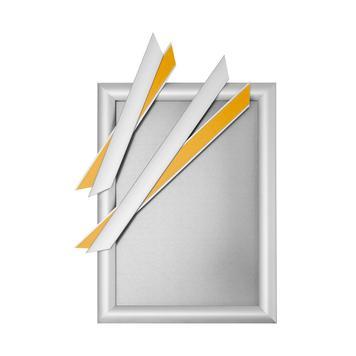 """Fensterrahmensystem """"Feko"""", silber eloxiert, Gehrungsecken"""