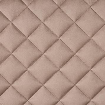 FlexiDeco-Stylepad / gepolsterter Stoff, Diamantoptik genäht