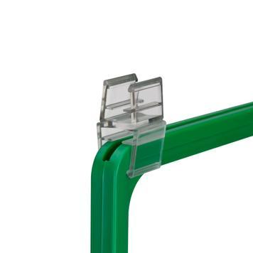 Verbindungsklammer zum Verbinden von Rahmen DIN A1 - DIN A2 mit Rahmen DIN A3 - DIN A6
