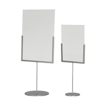 Metall Plakatständer mit Acrylglastasche
