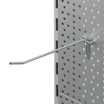 Lochwand-Einzelhaken 4mm