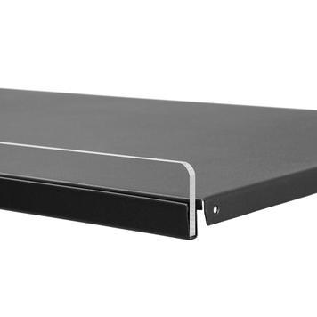 Frontblende 6 mm, Einsteckleiste für Metall-Regalböden