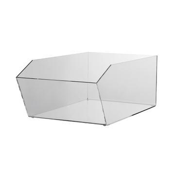 "Warenschütte ""Pilea"" aus Acrylglas, rechteckig"