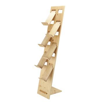 "Prospektständer ""H3"" aus Holz"