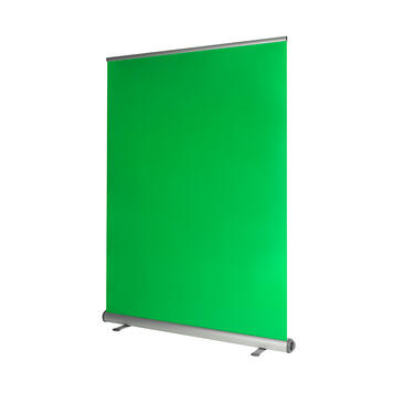 "Roll Up Banner Green Screen ""Mobil"""
