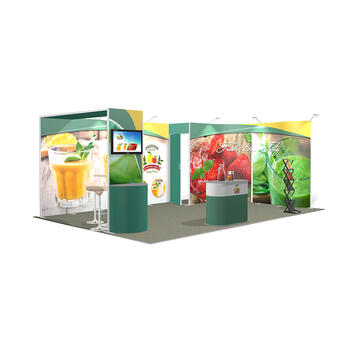 Messestand ISOframe 4 x 6 Meter