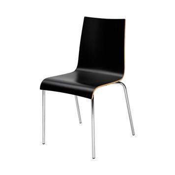 "Stuhl ""Ramona"" stapelbar, weiß"
