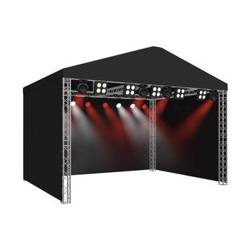 Bühne mit Satteldach