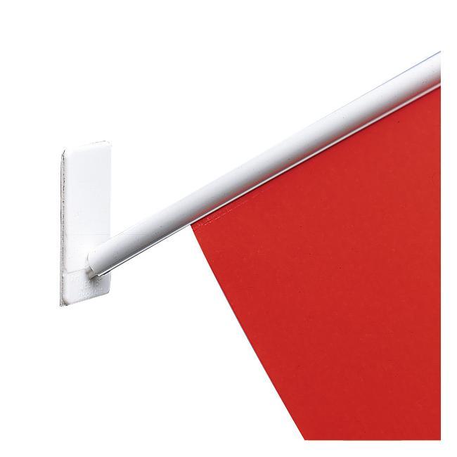 Endkappe für Fahnenrohre, ø 7 mm