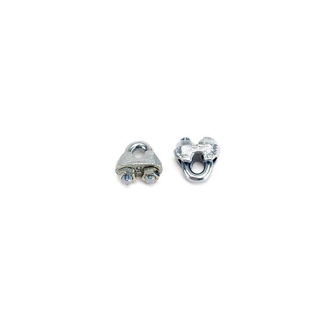 Seilklemme für 1 - 5 mm Stahlseile