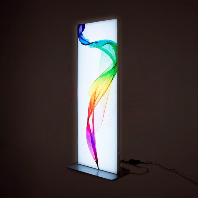 LED-Stretchframe-Säule, doppelseitig