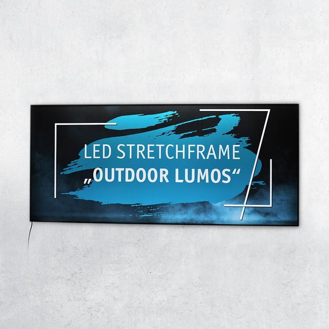 "LED Stretchframe ""Outdoor Lumos"""
