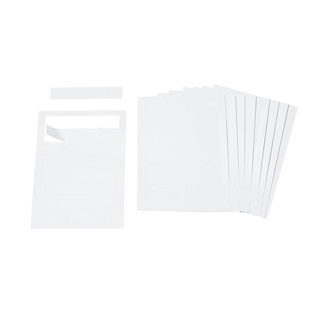 """Beschriftungsetiketten für Türschild """"Silver"""""""