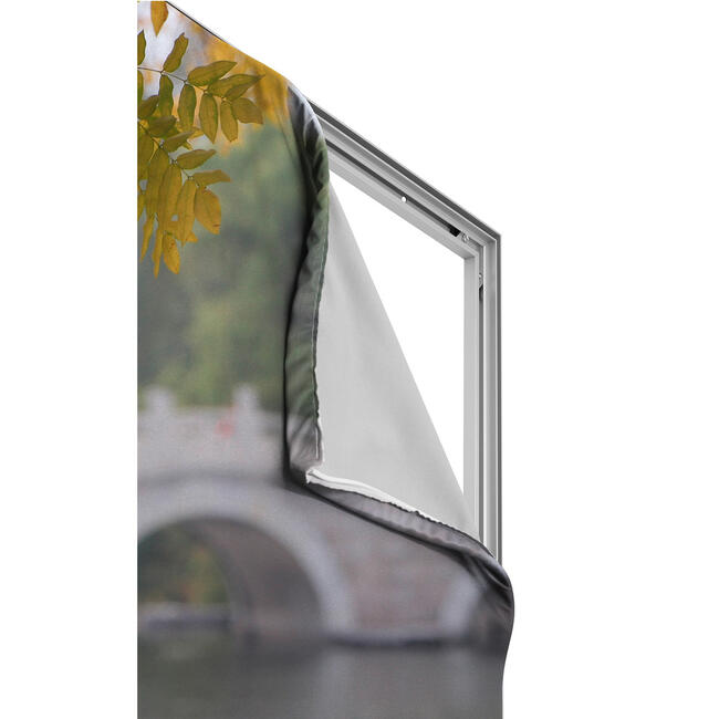 Digitaldruckbanner für Aluminium Stretchframe