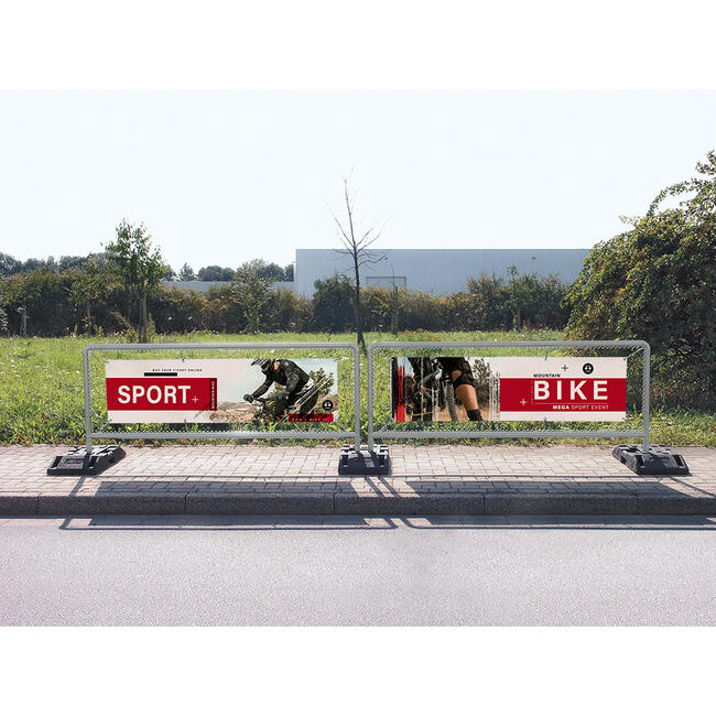 """Bannerrahmen Stecksystem Stahl """"Sports"""""""