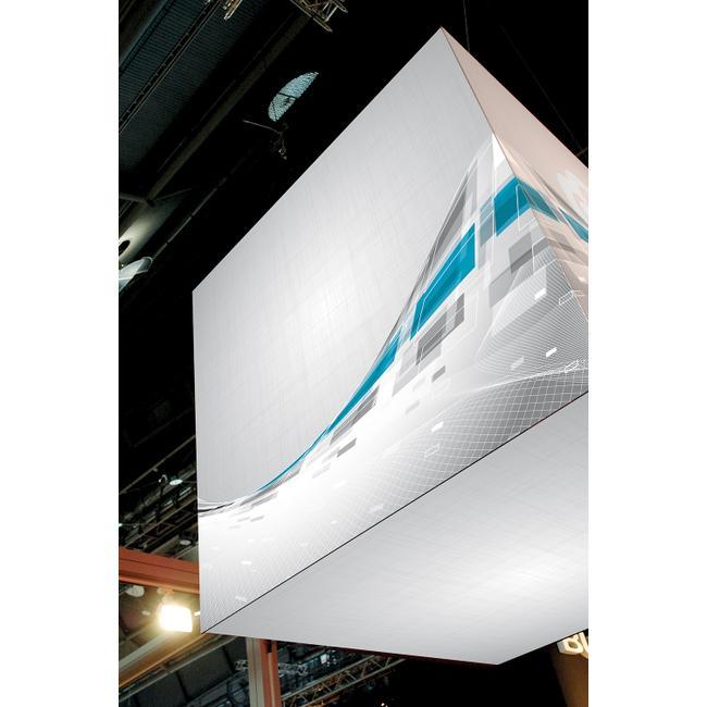 """Digitaldruckbanner für Stretchframe-System """"Cube"""""""