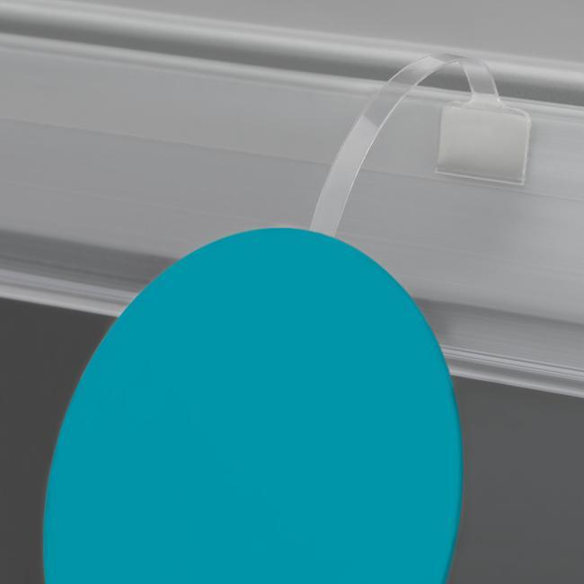 Schildwackler PVC glasklar 75 mm