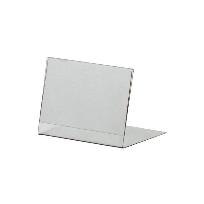 PVC L-Ständer, DIN A6 bis DIN A8, im Hoch- oder Querformat