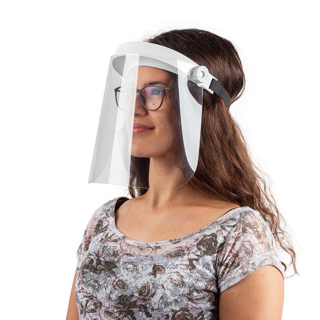 klappbarer Gesichtsschutz