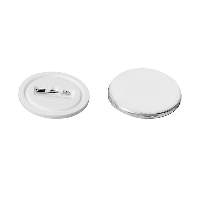 Buttons aus Kunststoff, Klick-Buttons