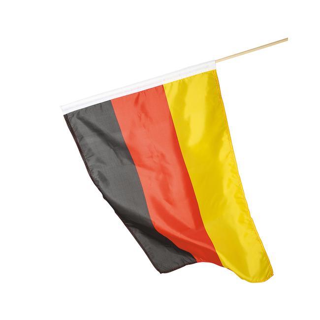"""Deutschlandfahne """"Holzstab"""""""
