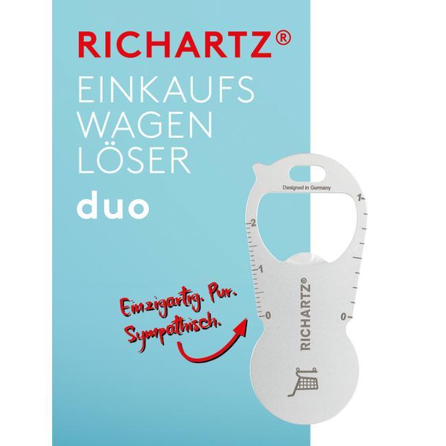"""RICHARTZ Einkaufswagenlöser """"Duo"""""""