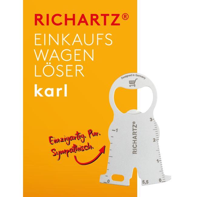 """RICHARTZ Einkaufswagenlöser """"Karl"""""""