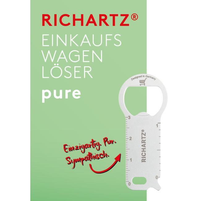 """RICHARTZ Einkaufswagenlöser """"Pure"""""""