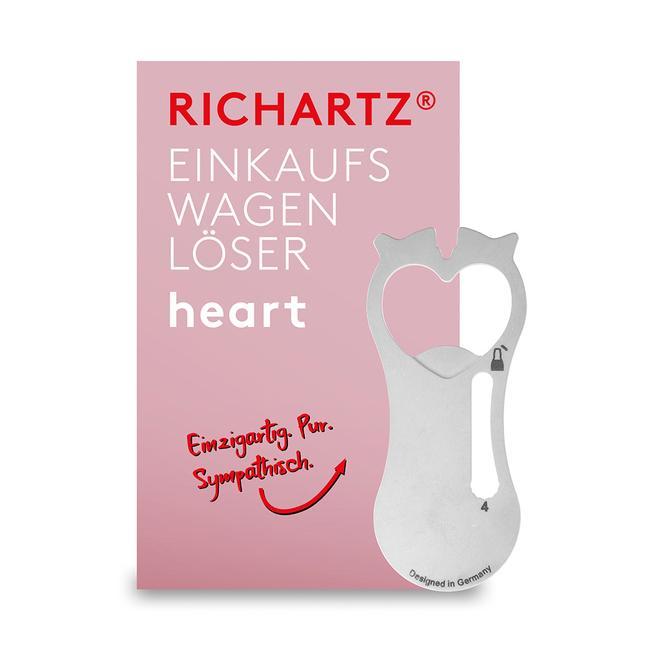 """Einkaufswagenlöser """"Heart"""""""