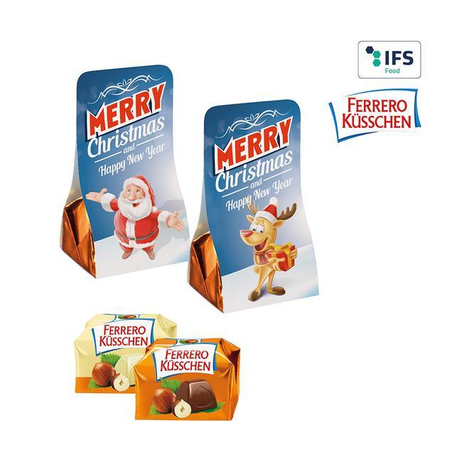 Ferrero Küsschen im Werbetäschchen
