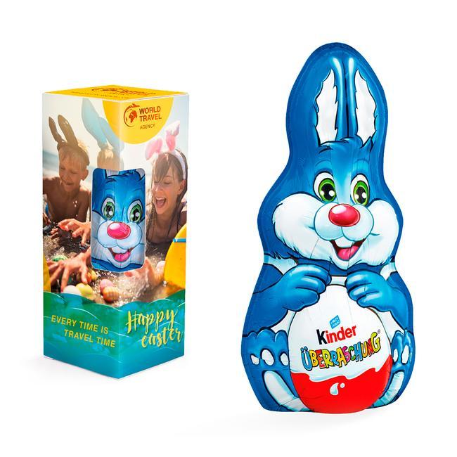 Kinder Schokolade Osterhase Maxi in Werbeverpackung