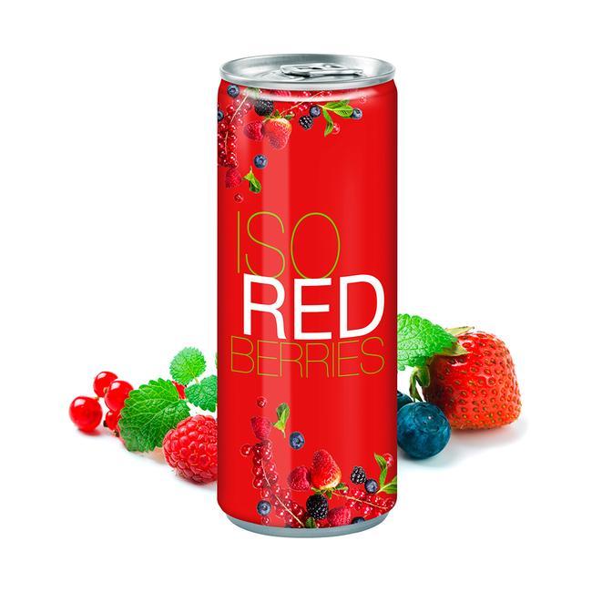 Iso Drink Redberries in der Dose