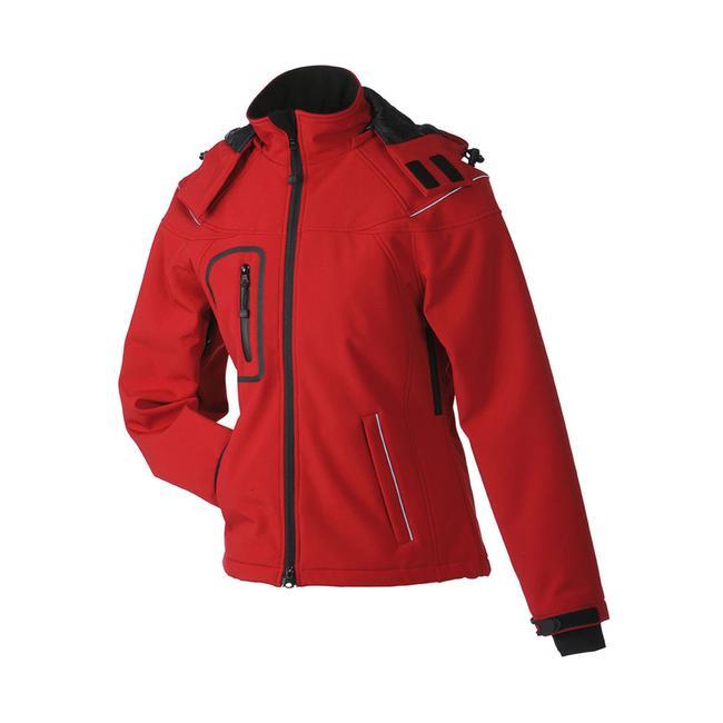 Ladies' Winter Softshell Jacket, wasserdichte taillierte Jacke für Damen