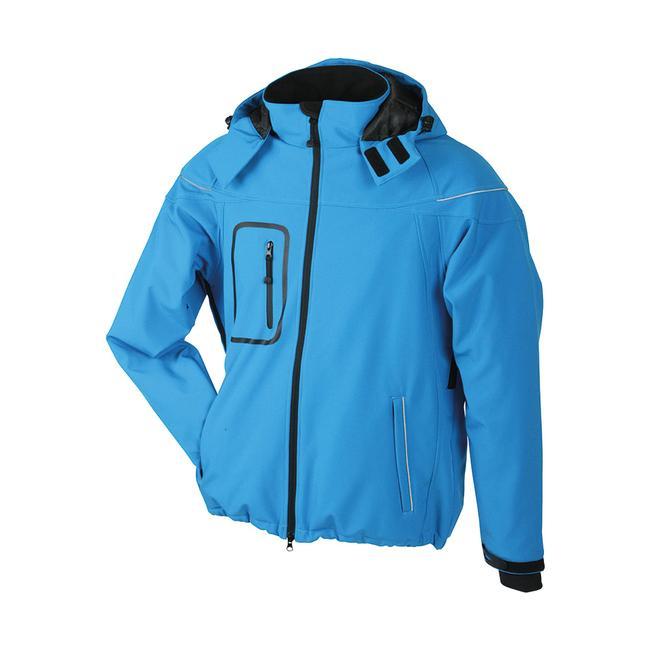 Men's Winter Softshell Jacket, wasserdichte Jacke für Herren