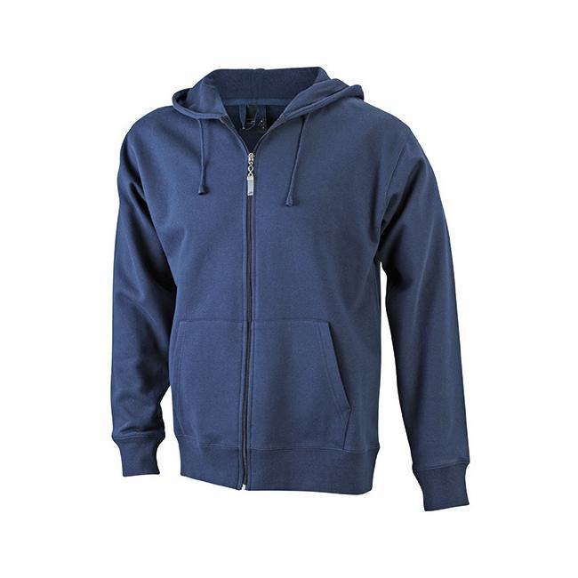 Men's Hooded Jacket, Kapuzenjacke mit Kängurutasche für Männer