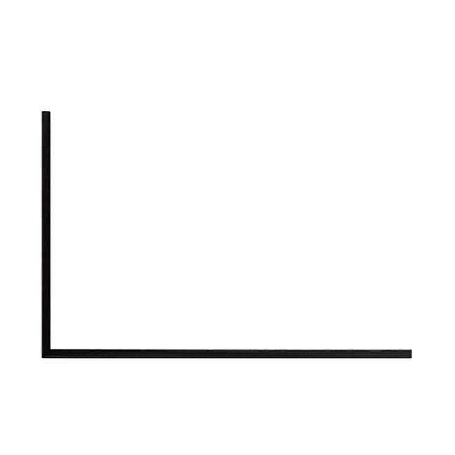 FlexiDeco-Functional / Regalablage links, schwarz