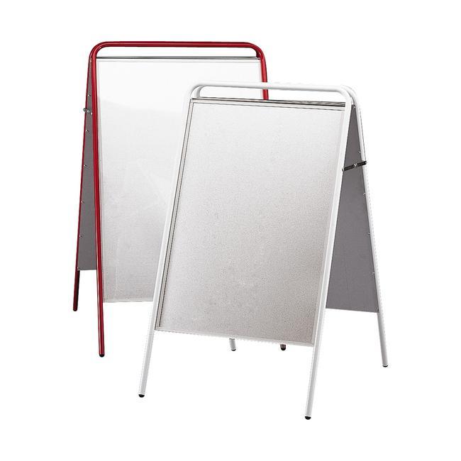 Plakataußenständer, klappbar, ohne Topschild