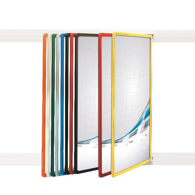 "Plakathänger ""Infosign"" Blau ähnl. RAL 5015"
