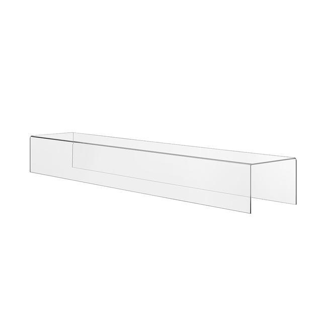Dekobrücke, rechteckiges Podest aus Acrylglas