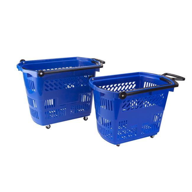 """Roller Basket """"Big"""", Einkaufskorb 42 Liter, zum Ziehen"""
