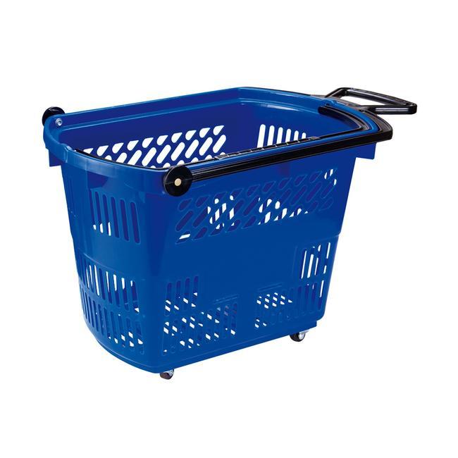 """Roller Basket """"Small"""", Einkaufskorb 33 Liter, zum Ziehen"""
