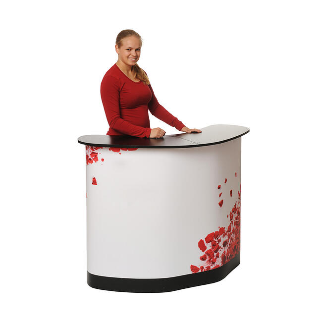 """Digitaldruckpaneel für Koffertheke """"Expo Case"""""""
