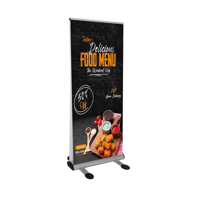 """Digitaldruckbanner für Roll Up Banner """"Storm"""""""