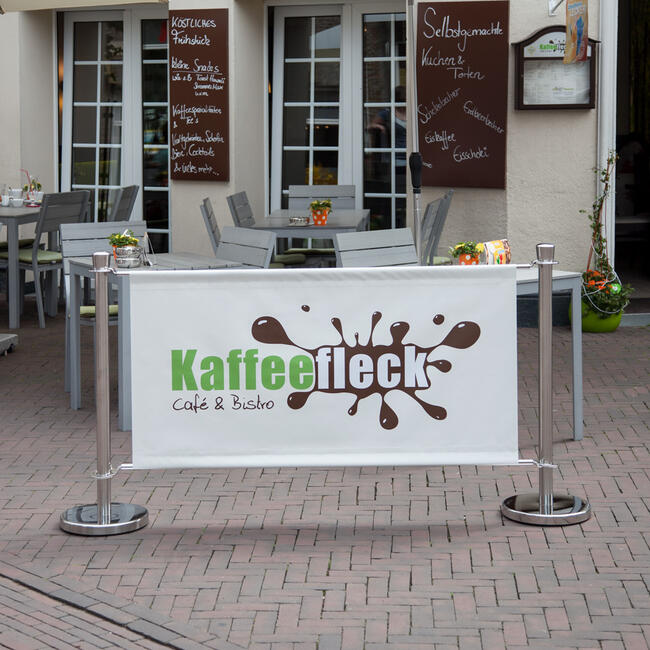 """Absperrständer """"Café"""""""